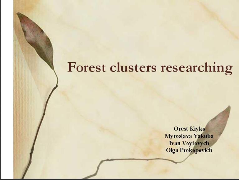 forest klaster