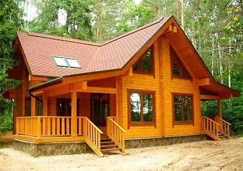 Садовий (дачний) дерев'яний будинок